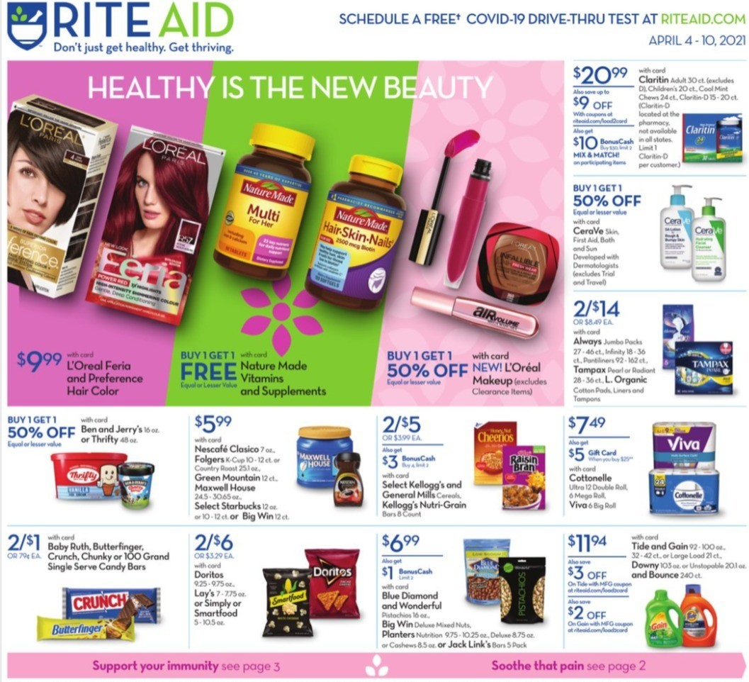 Rite Aid Weekly Ad from April 4