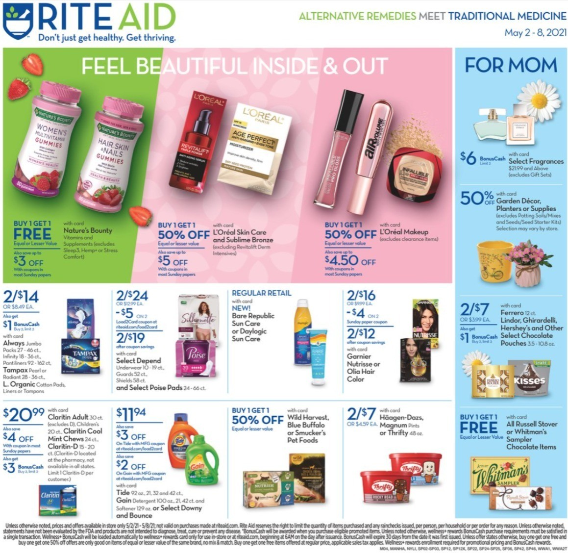Rite Aid Weekly Ad from May 2