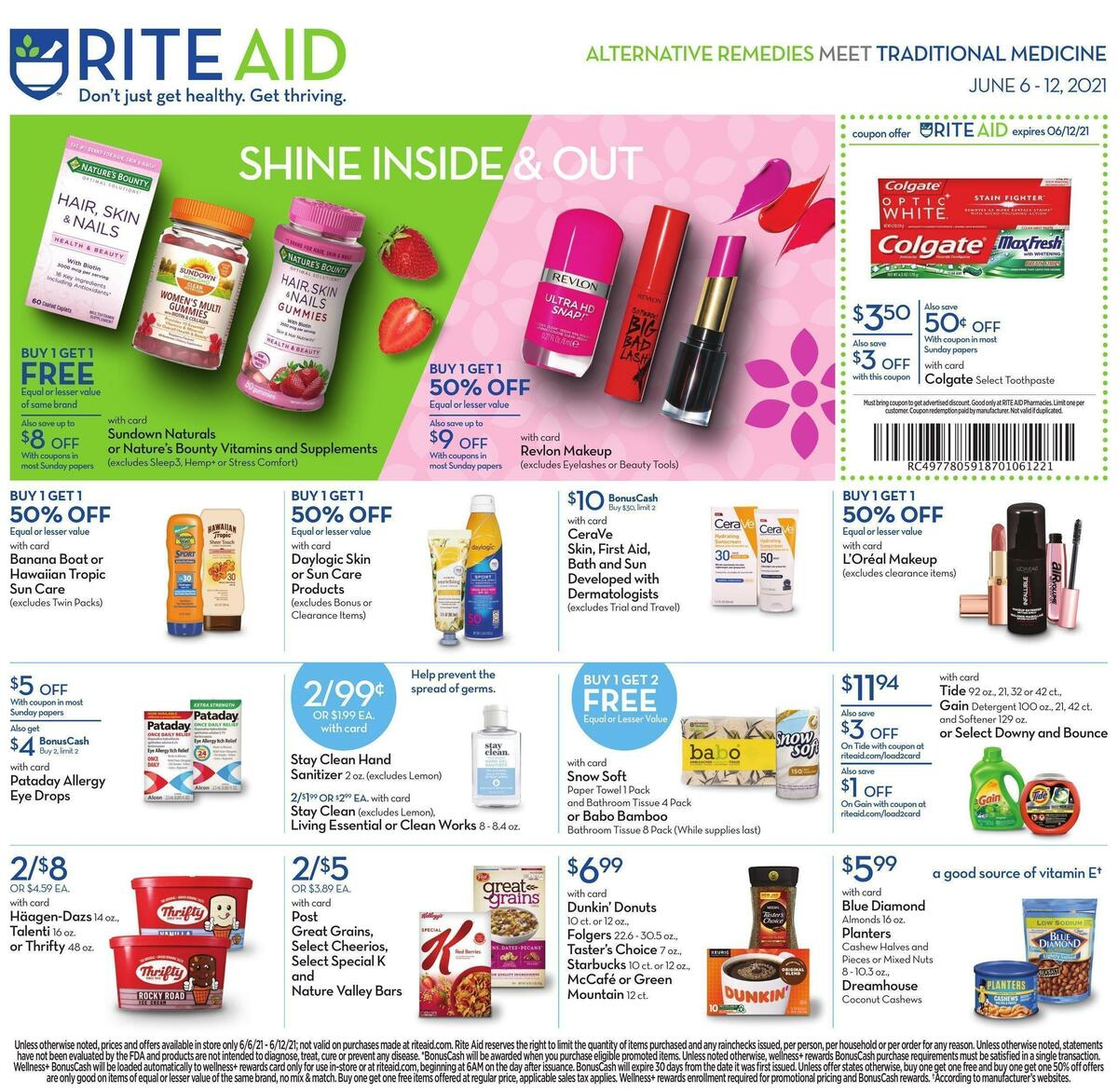 Rite Aid Weekly Ad from June 6