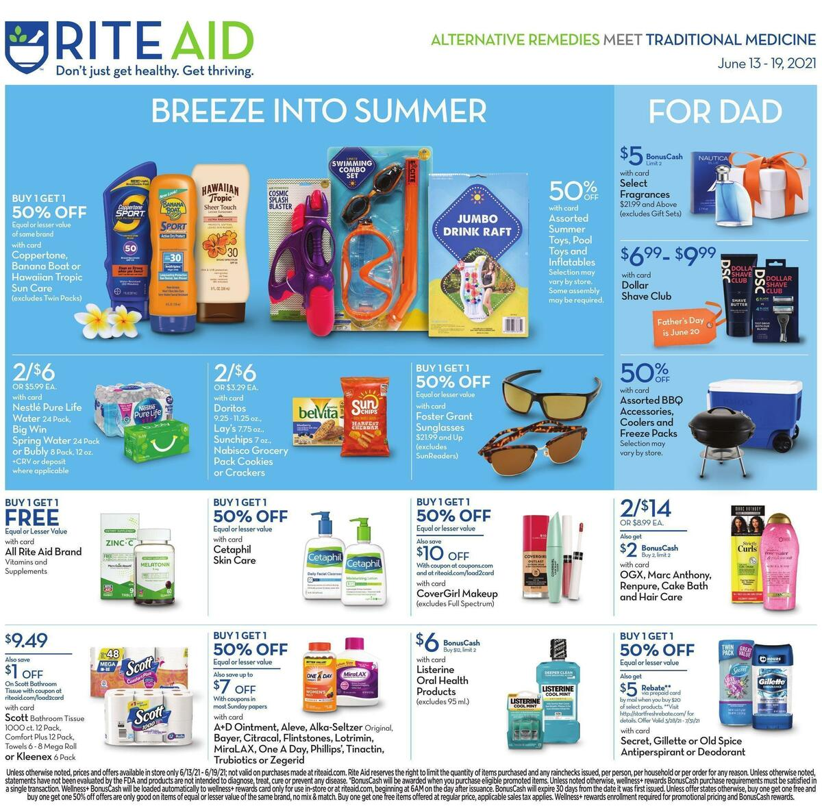 Rite Aid Weekly Ad from June 13
