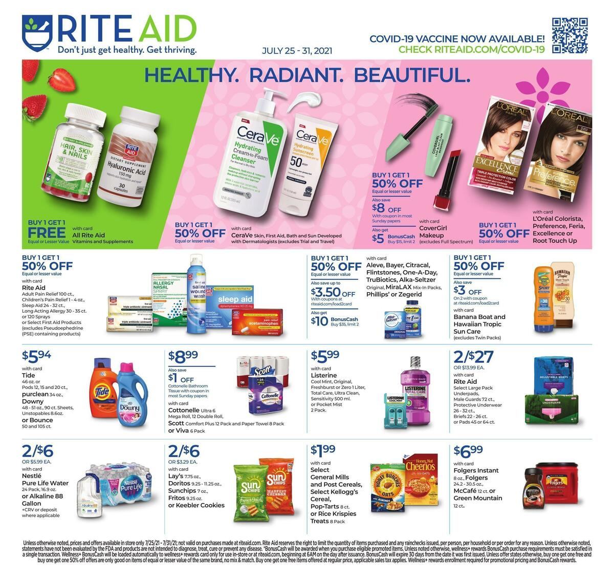 Rite Aid Weekly Ad from July 25