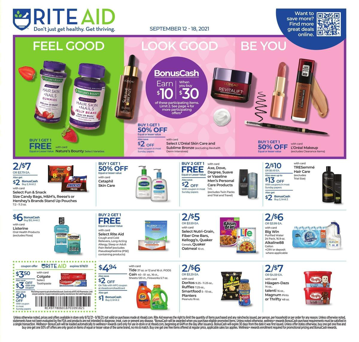 Rite Aid Weekly Ad from September 12