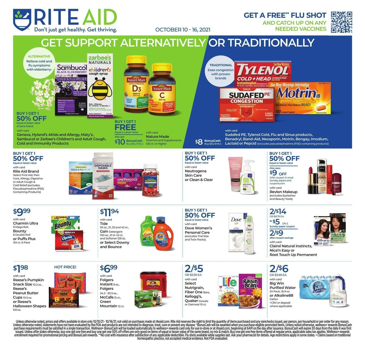 Rite Aid Weekly Ad from October 10