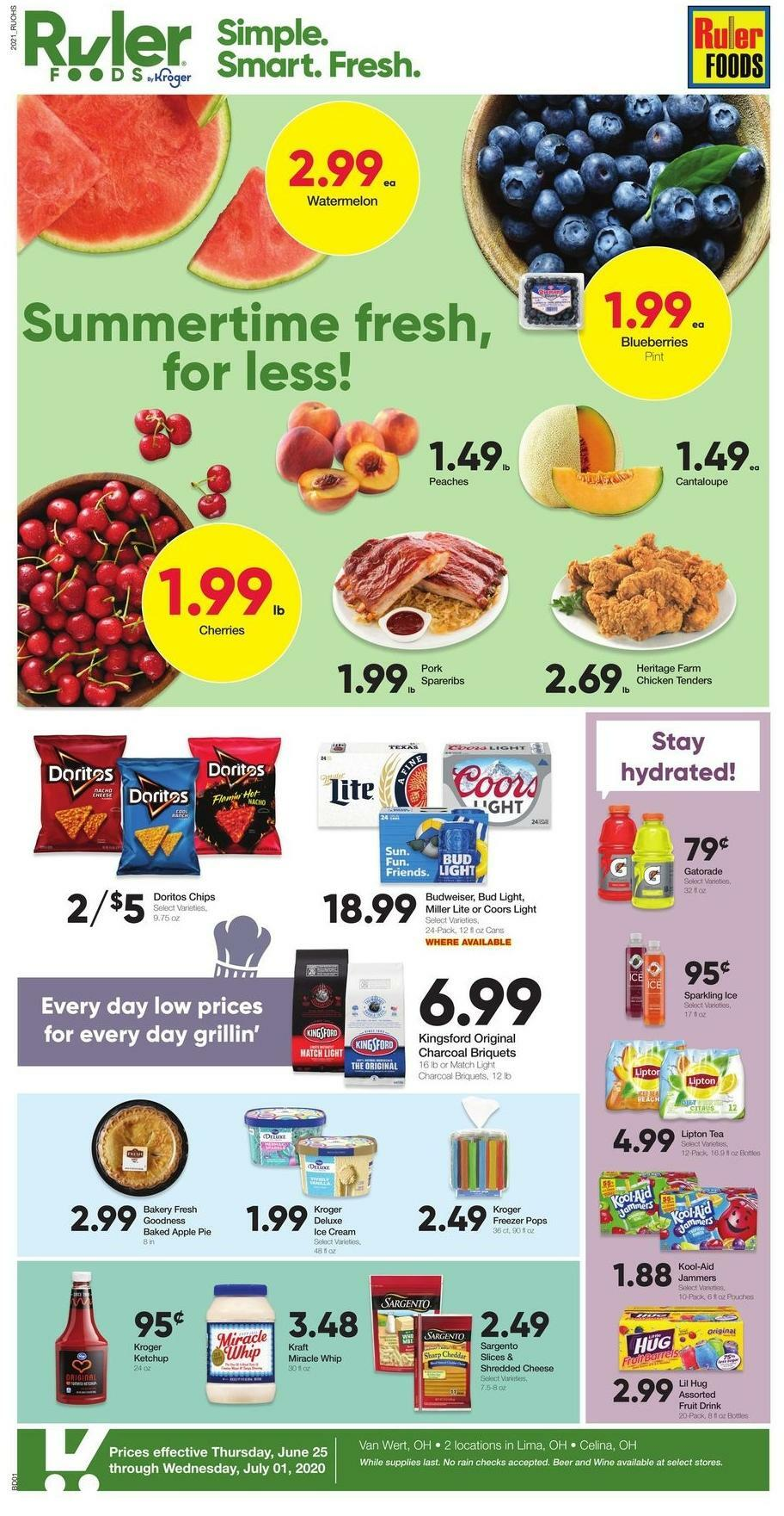 Ruler Foods Weekly Ad from June 25