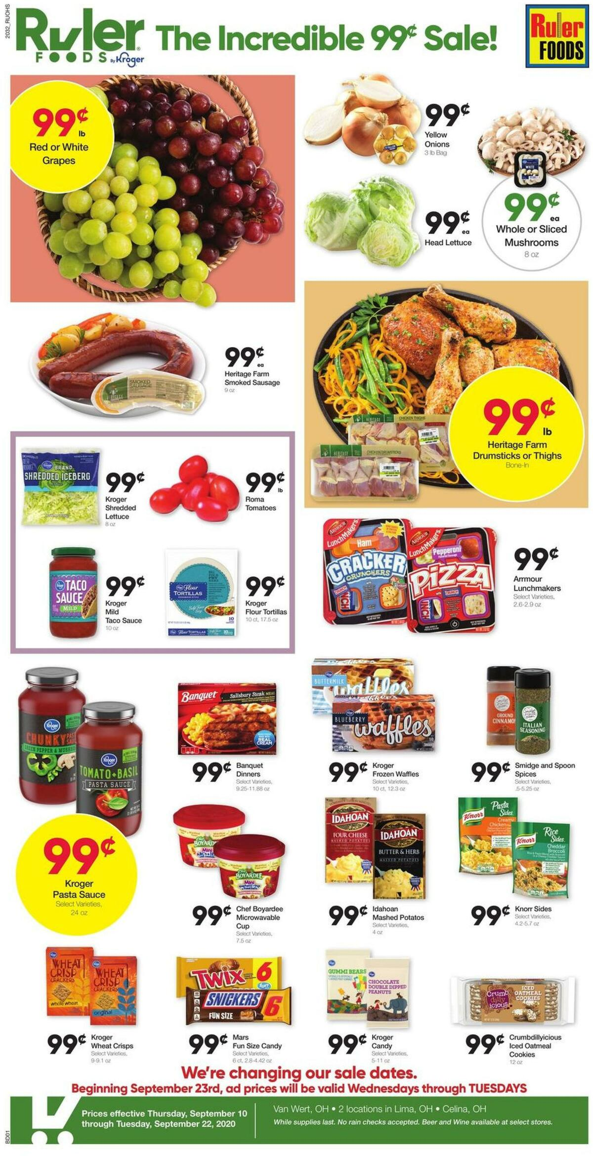 Ruler Foods Weekly Ad from September 10
