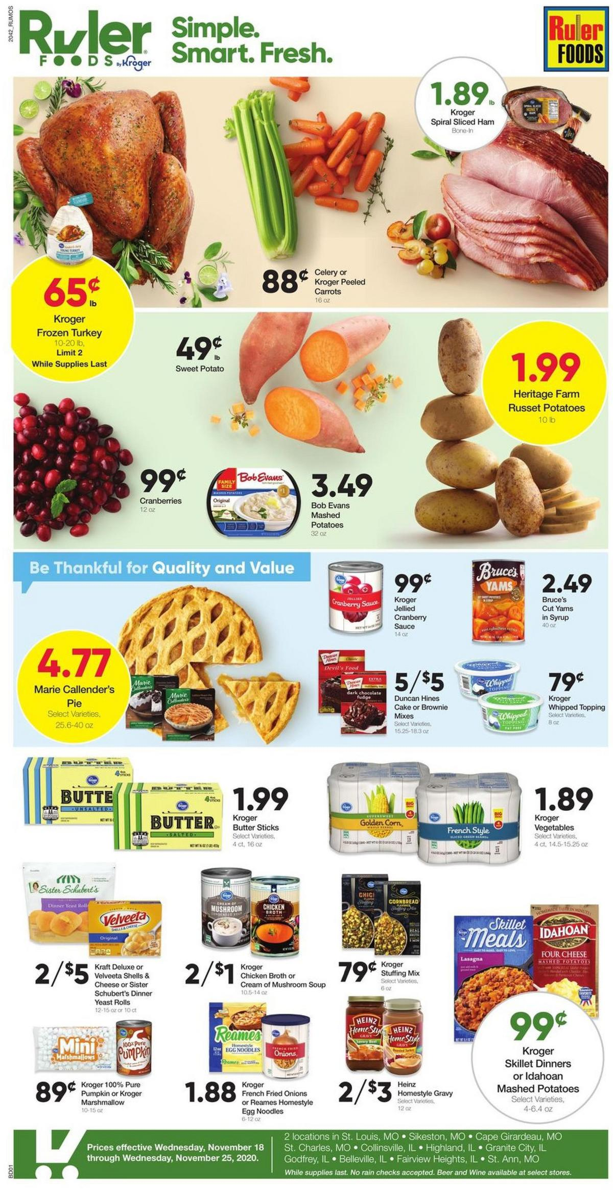 Ruler Foods Weekly Ad from November 18