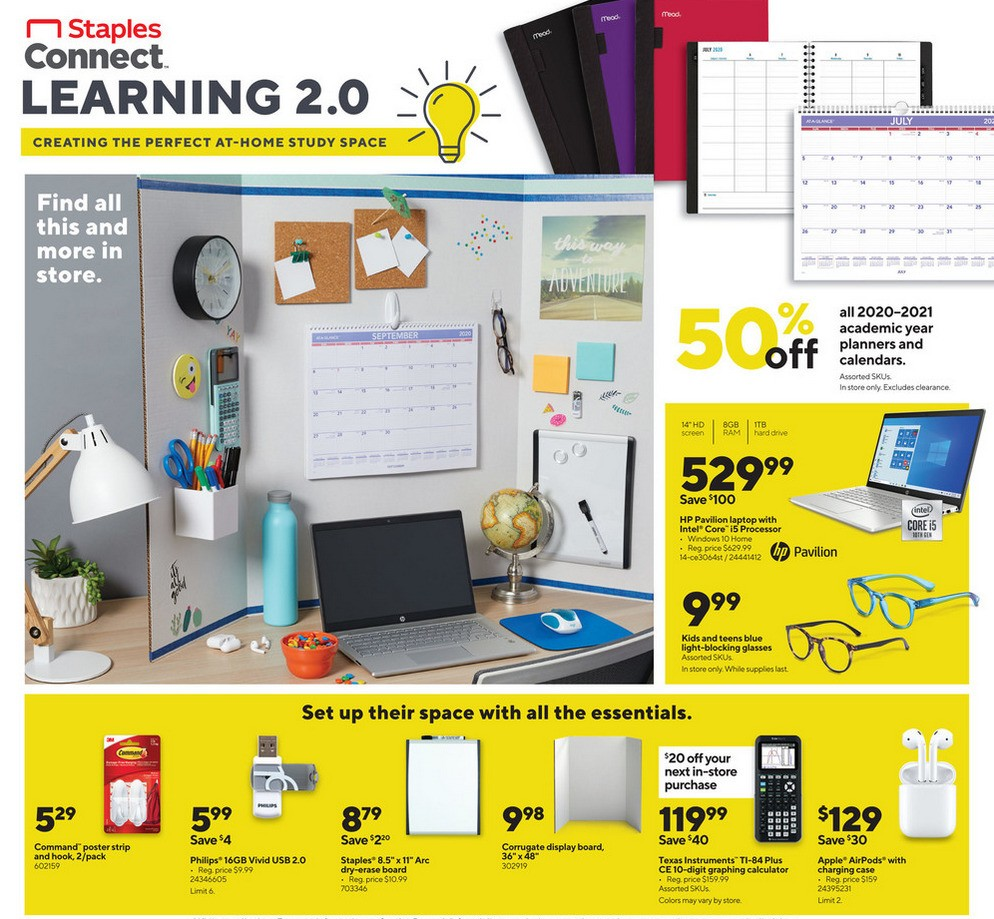 Staples Weekly Ad from September 13