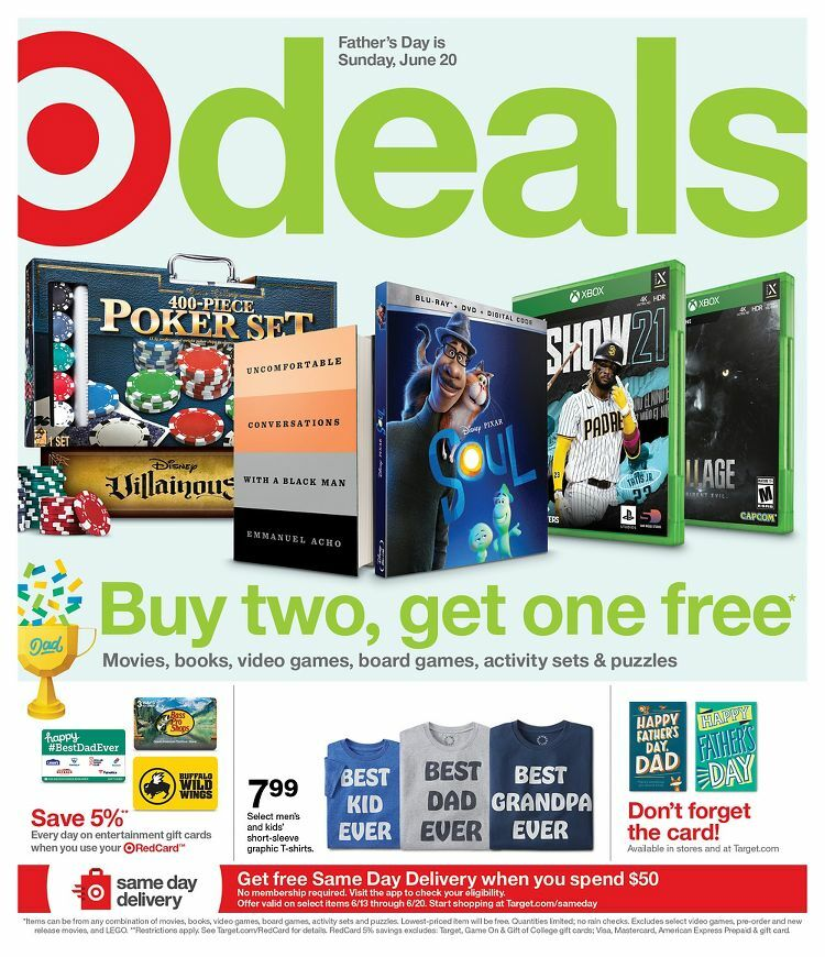 Target Weekly Ad from June 13