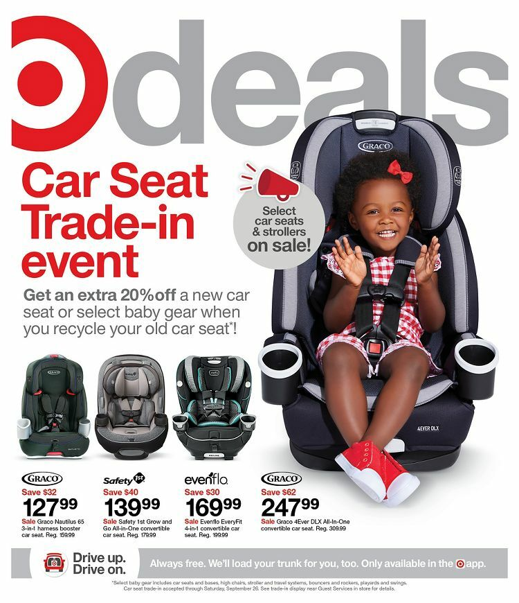 Target Weekly Ad from September 12
