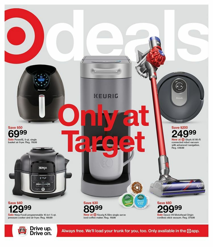 Target Weekly Ad from October 10