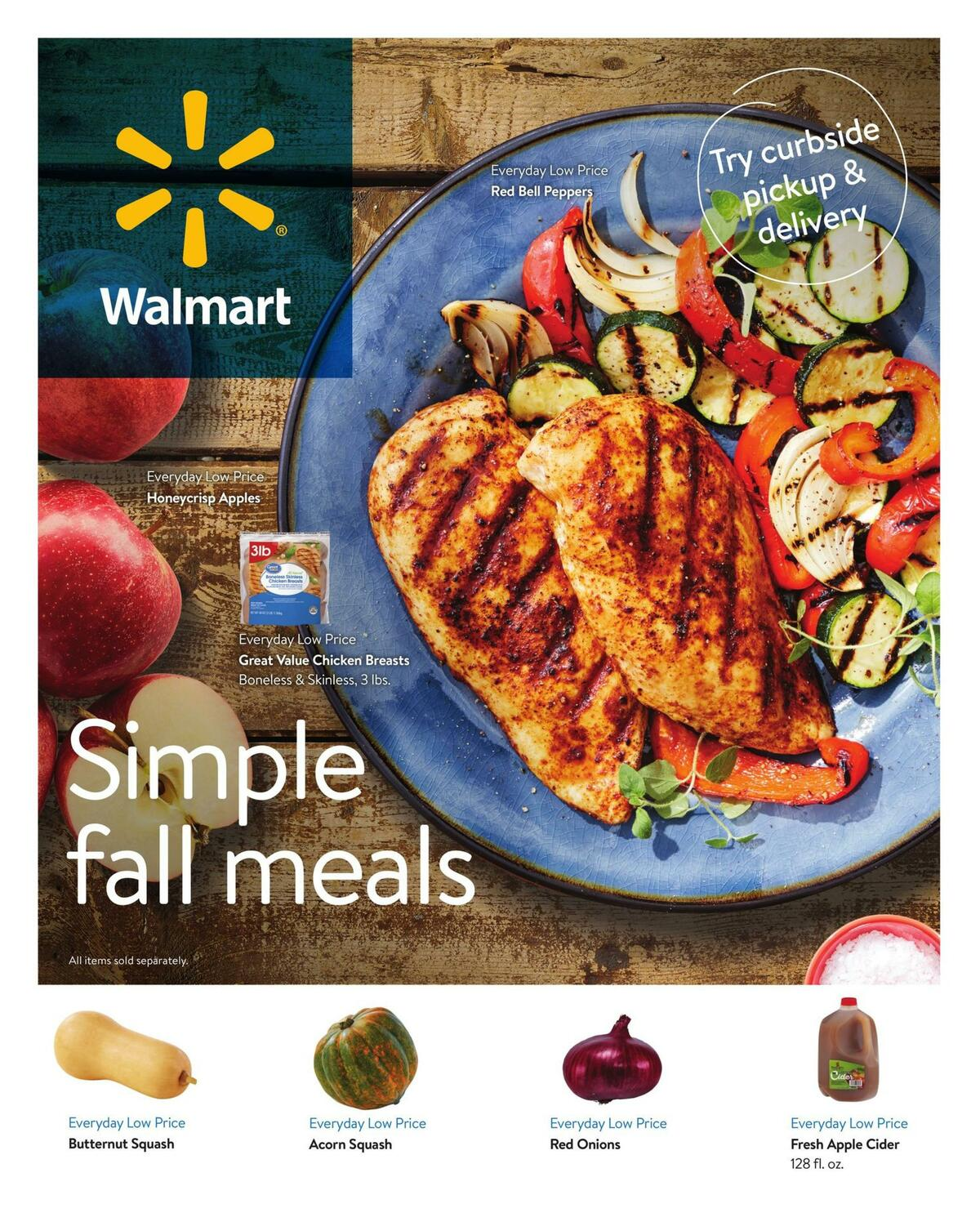 Walmart Weekly Ad from September 2