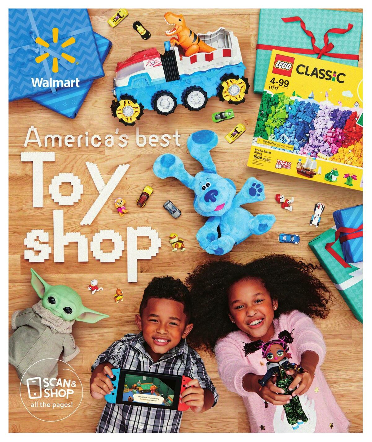 Walmart America's Best Toy Shop Weekly Ad from October 24