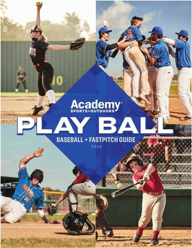 Academy Sports + Outdoors Baseball + Fastpitch Guide