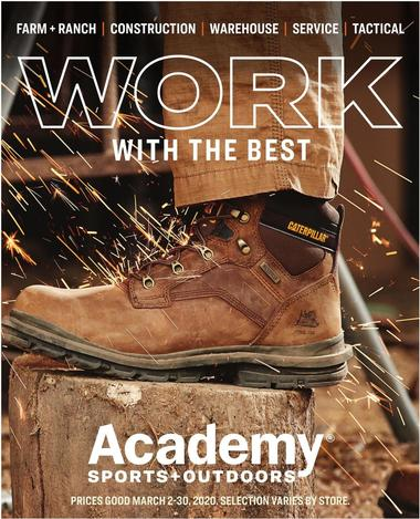Academy Sports + Outdoors Workwear Ad