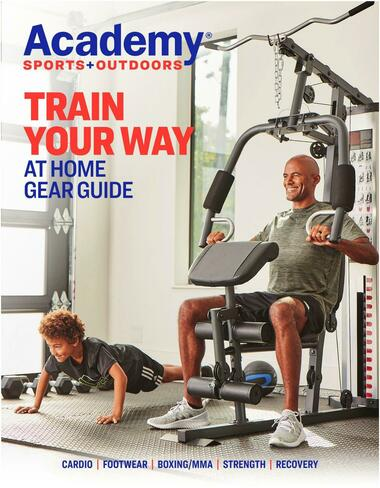 Academy Sports + Outdoors At Home Gear Guide