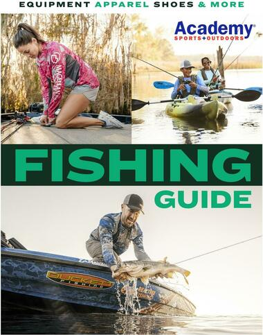 Academy Sports + Outdoors Fishing Guide