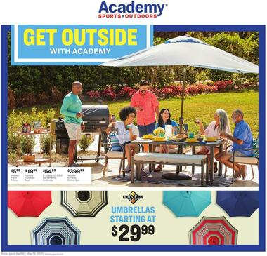 Academy Sports + Outdoors Get Outside Guide