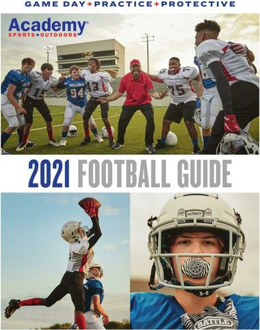 Academy Sports + Outdoors Football Guide