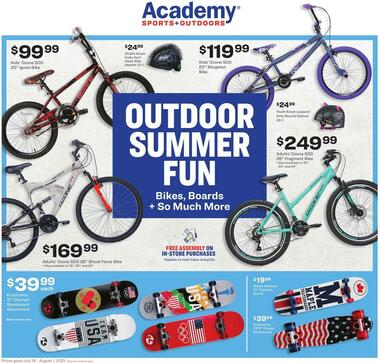 Academy Sports + Outdoors Outdoor Ad