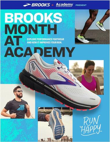Academy Sports + Outdoors Brooks Month