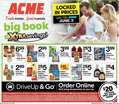 ACME Markets Big Book of Savings