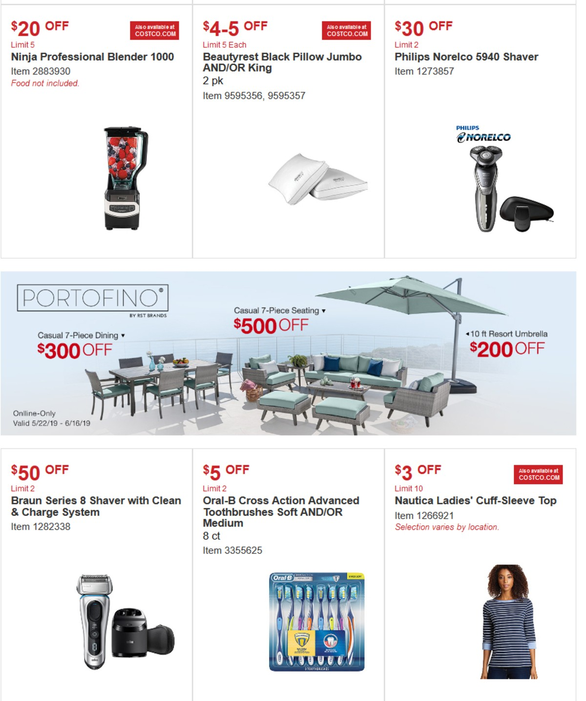 Costco Special Buys And Warehouse Savings For May 22