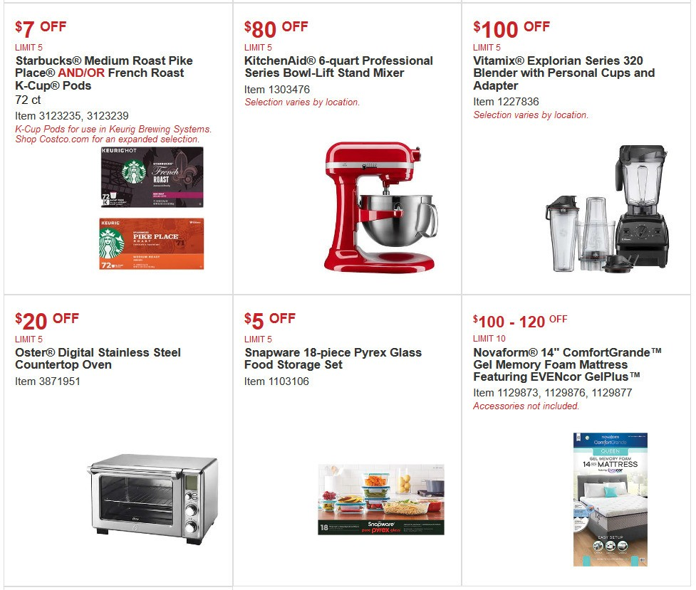 Costco Special Buys And Warehouse Savings For April 15
