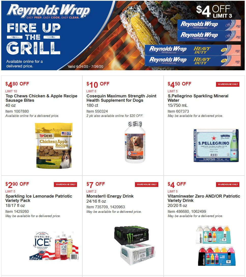 Costco Special Buys And Warehouse Savings For June 24