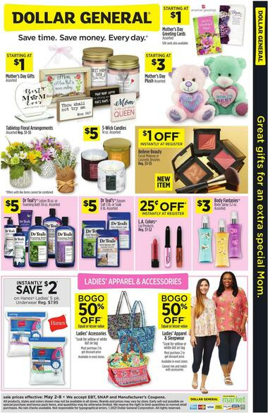 Dollar General Great Gifts For An Extra Special Mom