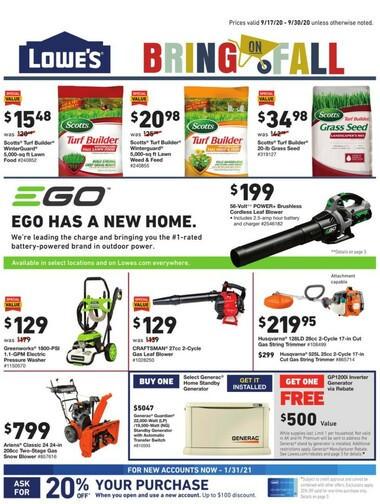 Lowe's In Store Promotion/DIY