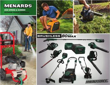 Menards OUTDOOR POWER EQUIPMENT