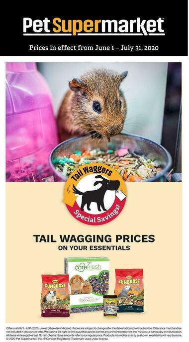 Pet Supermarket Small Animal Savings