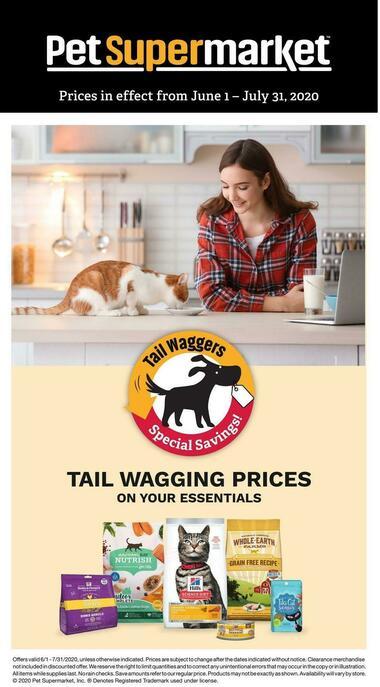 Pet Supermarket Cat Savings