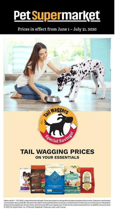 Pet Supermarket Dog Savings