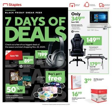 Staples Black Friday Top Deals